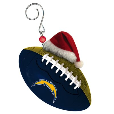 NFL Team Ball Ornament NFL Team: San Diego Chargers 4PU4936UC