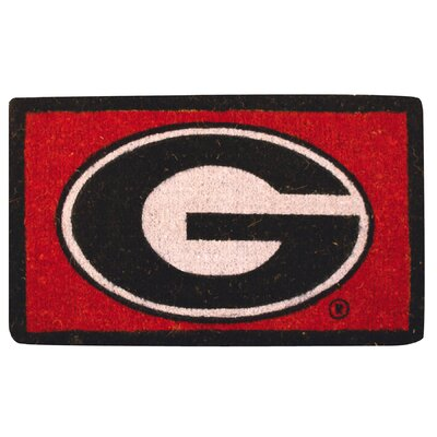 NCAA Georgia Welcome Doormat