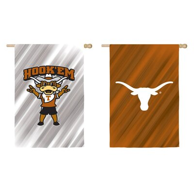 NCAA 2-Sided Vertical Flag Size: 18