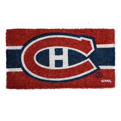 NHL Graphic Print Doormat NHL Team: Montreal Canadiens