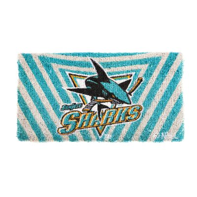 NHL Graphic Print Doormat NHL Team: San Jose Sharks