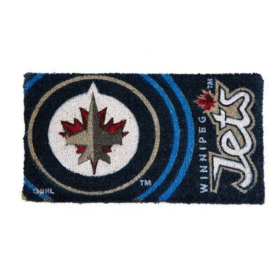 NHL Graphic Print Doormat NHL Team: Winnipeg Jets
