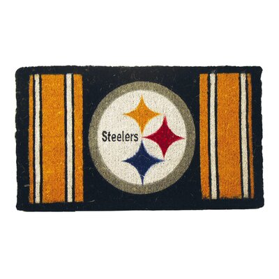 NFL Pittsburgh Steelers Welcome Graphic Printed Doormat