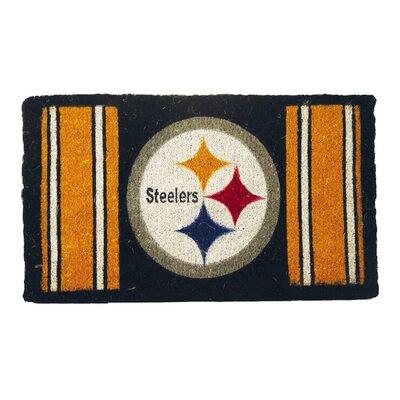 NFL Pittsburgh Steelers Welcome Graphic Printed Doormat