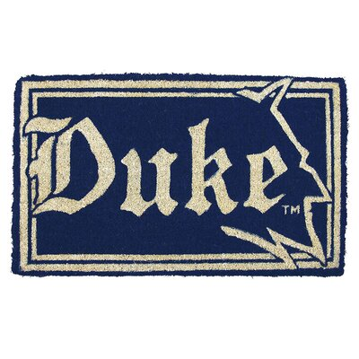 NCAA Duke Welcome Graphic Printed Doormat