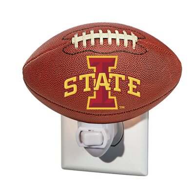 NCAA Glass Night Light NCAA Team: Iowa State University
