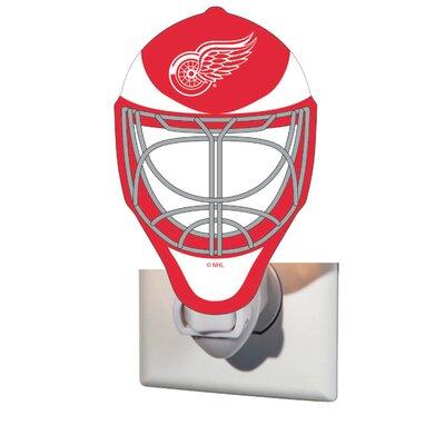 NHL Glass Night Light NHL Team: Detroit Red Wings