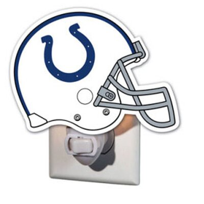 NFL Glass Night Light NFL Team: Indianapolis Colts