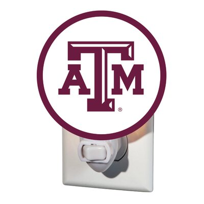 NCAA Glass Night Light NCAA Team: Texas A&M