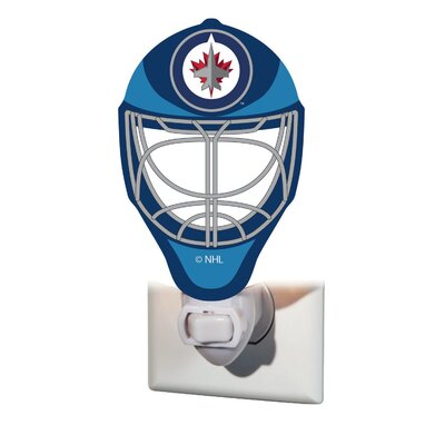 NHL Glass Night Light NHL Team: Winnipeg Jets