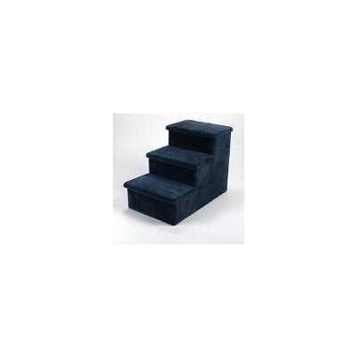 Lucky Cat Heavy Duty 3 Step Pet Stair - Color: Dark Blue, Hinged Steps: One, Wheels and Handle: Yes at Sears.com