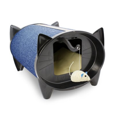 Scratch Kabin Cat House Color: Blueberry