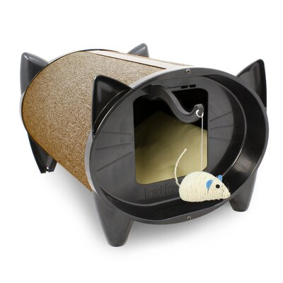 Scratch Kabin Cat House Color: Cocoa Bean