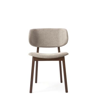 Claire Side Chair Finish: Smoke, Upholstery: Denver Cord