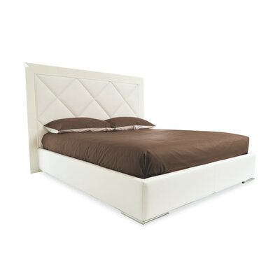 Diamond Upholstered Platform Bed