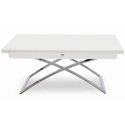 Magic J Coffee Table Frame Finish: Glossy White, Color: Glossy White, Leg Finish: Matt Optic White