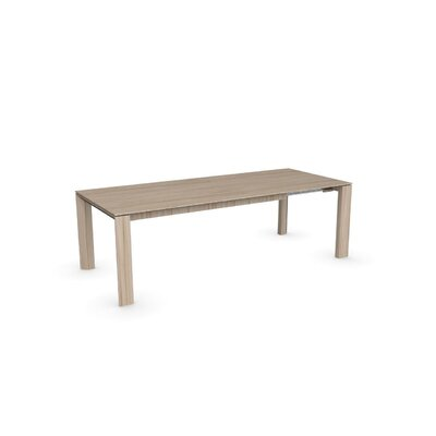 Omnia Extendable Dining Table Frame Finish Natural