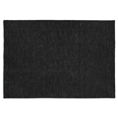 Very Flat Grey Area Rug