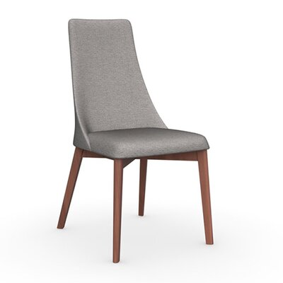 Etoile Chair Frame Color: Walnut, Upholstery Color: Cord