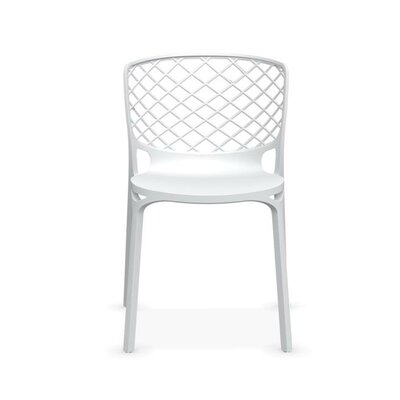 Gamera Stackable Nylon Chair Finish: Matt Optic White