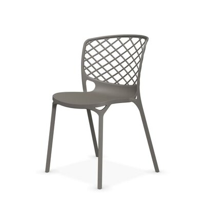 Gamera Stackable Nylon Chair Finish: Taupe