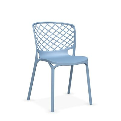 Gamera Stackable Nylon Chair Finish: Sky Blue