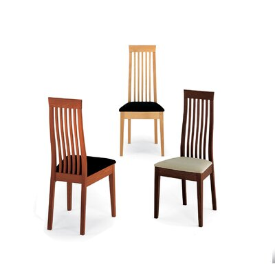 Picture of Calligaris 279 Chicago Chair (Set of 4) Finish: Wenge, Upholstery: Taupe Rio – Fire Retardent in Large Size