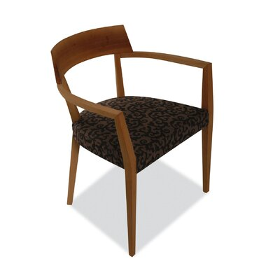 Low Price Calligaris Flair Chair Upholstery: Rio Ecru, Finish: Wenge