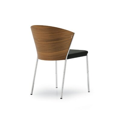 Low Price Calligaris Mya W Chair Upholstery: Black Fabric