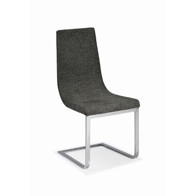 Low Price Calligaris Cruiser Chair with Sleigh Frame Upholstery: Brighton Cord, Finish: Chrome
