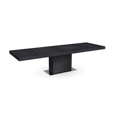 Park Extendable Dining Table Frame Finish: Graphite