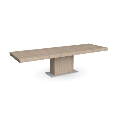 Park Extendable Dining Table Frame Finish: Natural