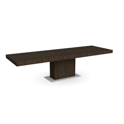 Park Extendable Dining Table Frame Finish: Smoke
