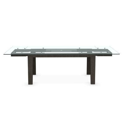 Maestro Extendable Dining Table Base Finish Wenge