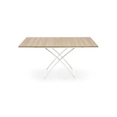 Magic J Coffee Table Leg Finish: Matt Optic White, Color: Natural, Frame Finish: Natural