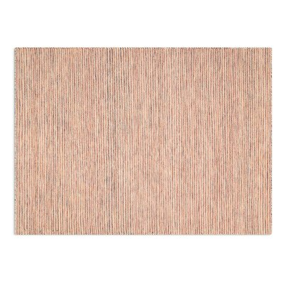Giano hand-woven Red Area Rug