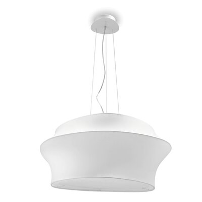 Cygnus suspension lamps Finish: Gray