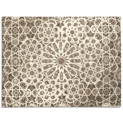 Arabia Brown Area Rug Rug Size: 67 x 911