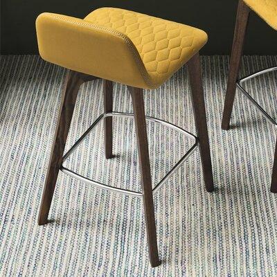 Sami Bar Stool Upholstery: Smoke