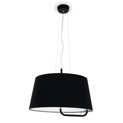 Sextans Suspension Lamp Finish: Black