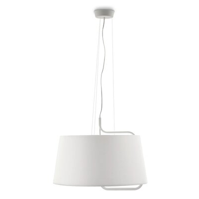 Sextans Suspension Lamp Finish: Optic White