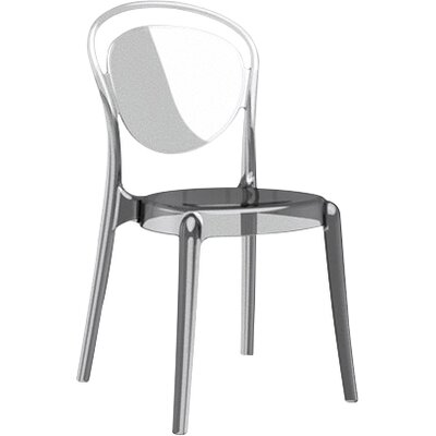Parisienne Patio Dining Chair Finish: Transparent