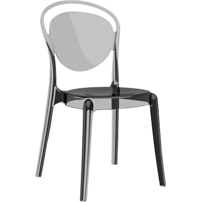 Parisienne Chair Finish: Transparent  Smoked Grey