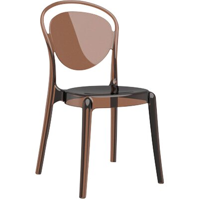 Parisienne Patio Dining Chair Finish: Transparent Amber