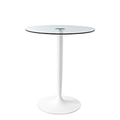 30Planet Dining Table Base Finish: Matt Optic White