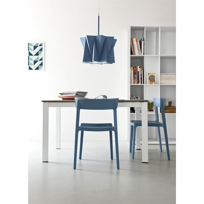 Andromeda Suspension Lamp Finish: Sky Blue, Size: 79 H x 19.63 W x 19.63 D