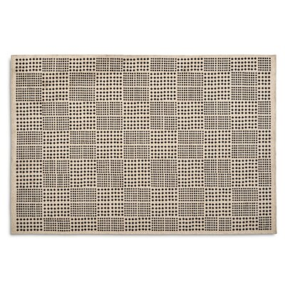 Africa Hand-woven Black Area Rug Rug Size: 57 x 711