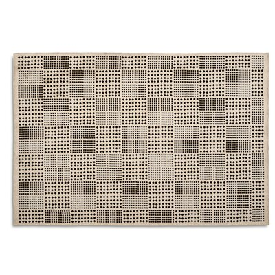 Africa Hand-woven Black Area Rug Rug Size: Rectangle 67 x 911