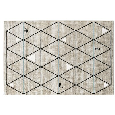 Gava Gray Area Rug Rug Size: Rectangle 67 x 911