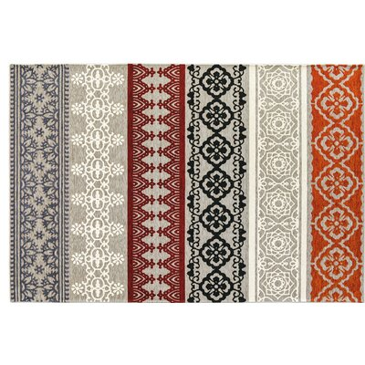 Nadira Gray Area Rug Rug Size: Rectangle 67 x 911